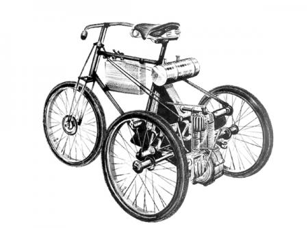 Трицикл De Dion-Bouton