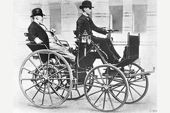 Карета Даймлера с ДВС 1886 г.