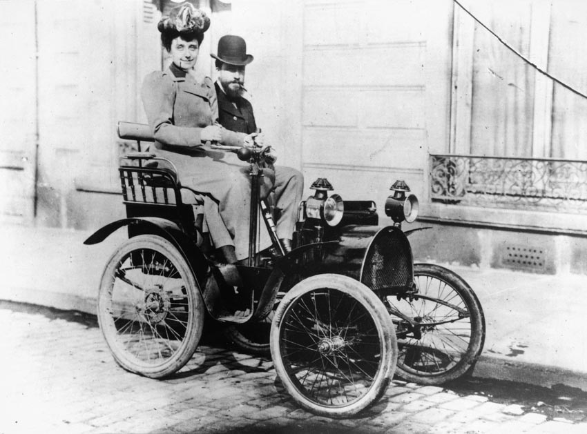 фото первые машины