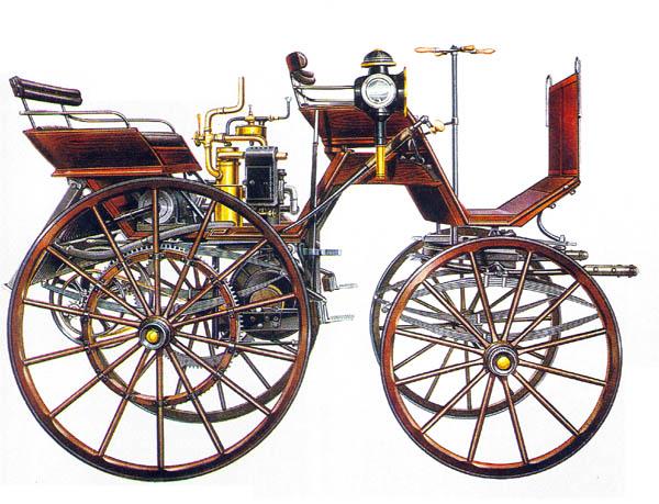 История первого автомобиля daimler превью кликни для увеличения <Первый автомобиль Дамлера